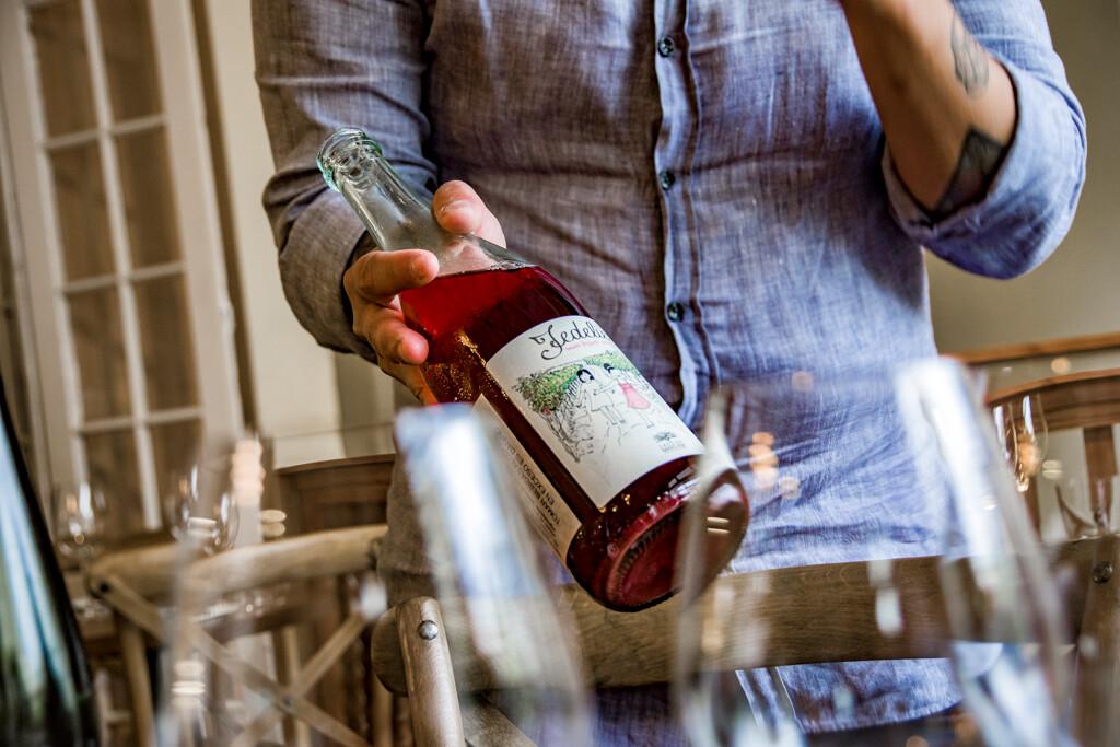 Wine tasting at Curador