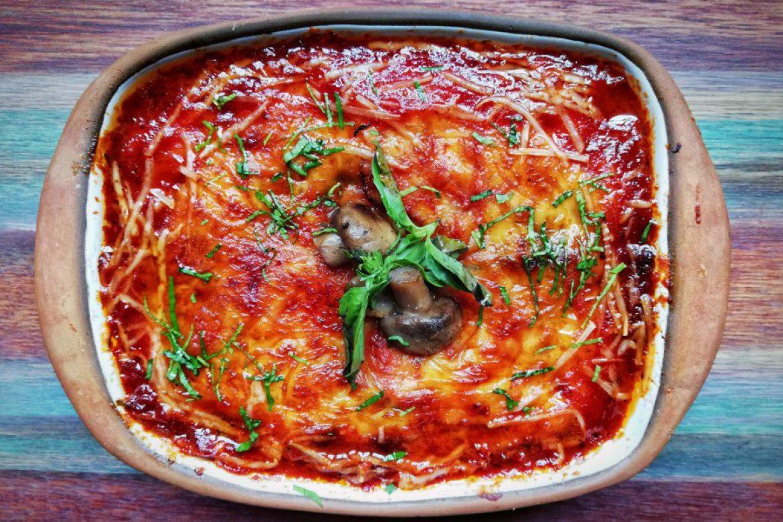 Vegeterian lasagna